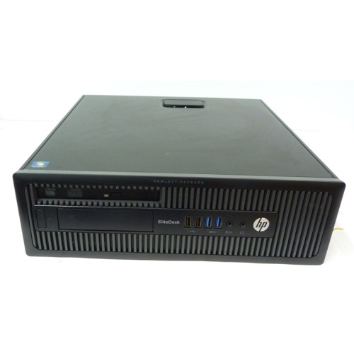 PC DESKTOP SFF HP ELITEDESK 800 G1 INTEL CORE I5-4670 3.4GHZ RAM 4GB HDD 500 GB WIN 7 PRO USATO