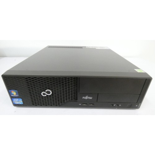PC DESKTOP SFF FUJITSU COMPUTER PC ESPRIMO E500 INTEL CORE I3 3.3GHZ RAM 4GB HDD500GB WIN 7 PRO USATO