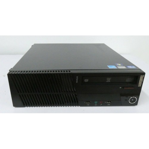 LENOVO THINKCENTRE M82 PC DESK INTEL CORE I 3 3.30GHZ HDD500GB RAM 4GB WIN 7 - USATO